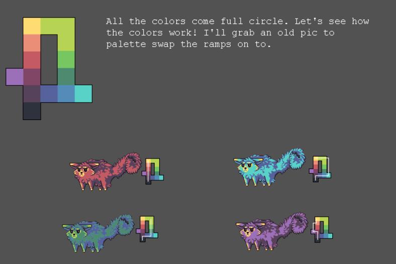 Make Colour Ramp