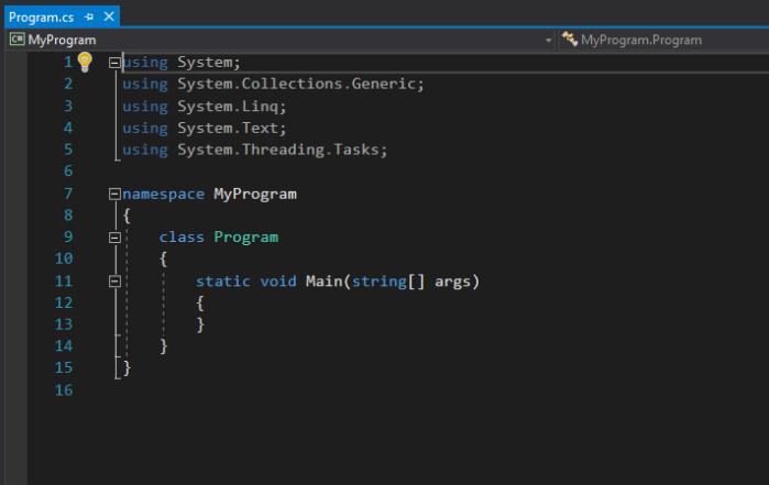 Default Code